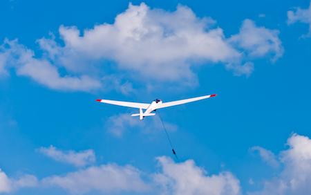 Segelfliegen in Boberg, Foto: Christoph Kurze