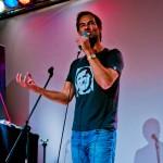 Thieß Neubert im Comedy Club Stellwerk, Foto: Christoph Kurze