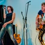Akascht rocken die Bühne, Foto: Christoph Kurze