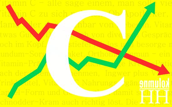 Ist Vitamin C gut oder schlecht für den Menschen? Zeichnung: Christoph Kurze