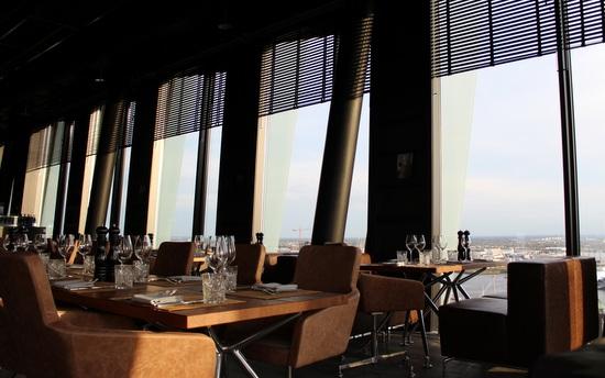 Clouds Restaurant in Hamburg