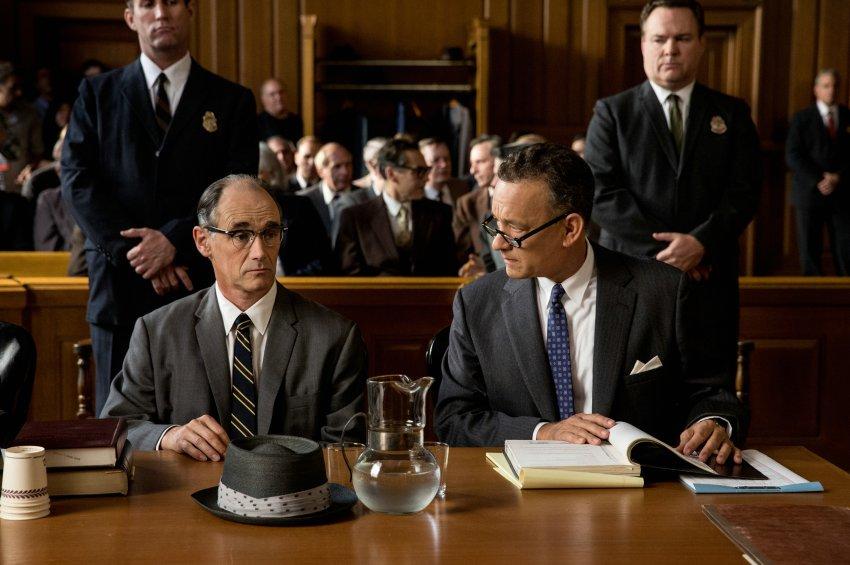 Tom Hanks und Mark Rylance (l.): Donovan verteidigt den sowjetischen Spion Rudolf Abel, Foto: 20th Century Fox.