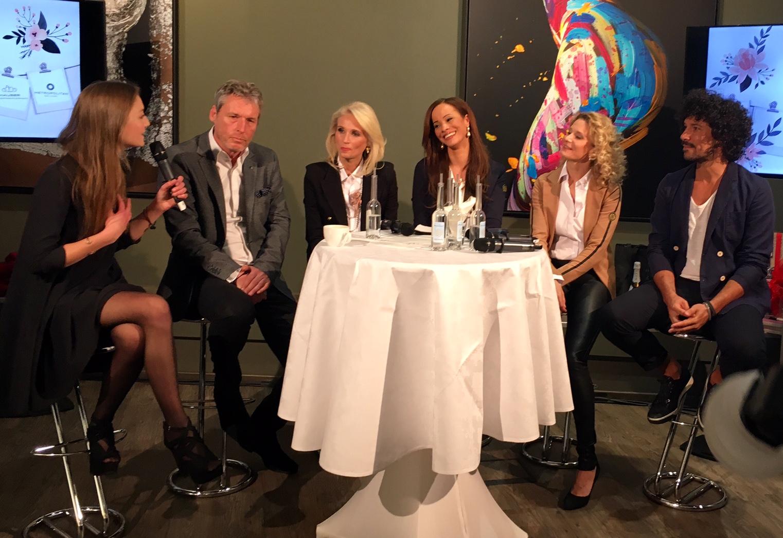 Diskussionsrunde bei der Woman Business Lounge Hamburg