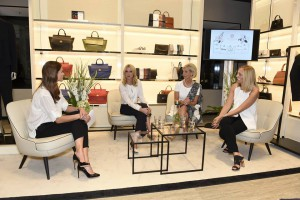 Podiumsdiskussion bei der Woman Business Lounge