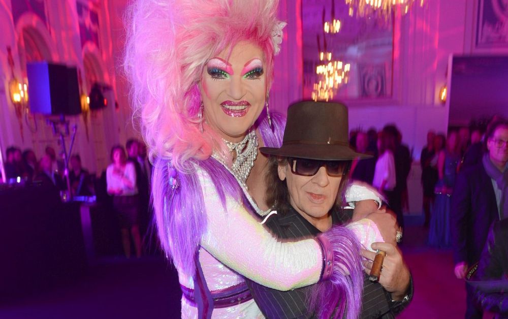 Drag Queen Olivia Jones mit Kult-Sänger Udo Lindenberg bei Movie meets Media, Foto: BrauerPhotos / O.Walterscheid
