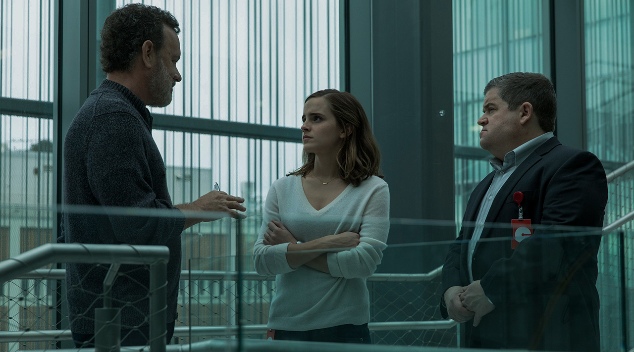 "Tom Hanks, Emma Watson und Patton Oswalt im Film ""The Circle"" (2017), Foto: The Circle Universum Film"