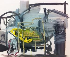 12Lorenz Goldstein_Raum3_2017_Öl auf Papier_29,7x 42cm