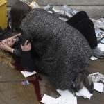 """Witnessing the immediate aftermath"" als zweiter Platz in der Kategorie Harte Fakten, Foto: Toby Melville, Reuters"