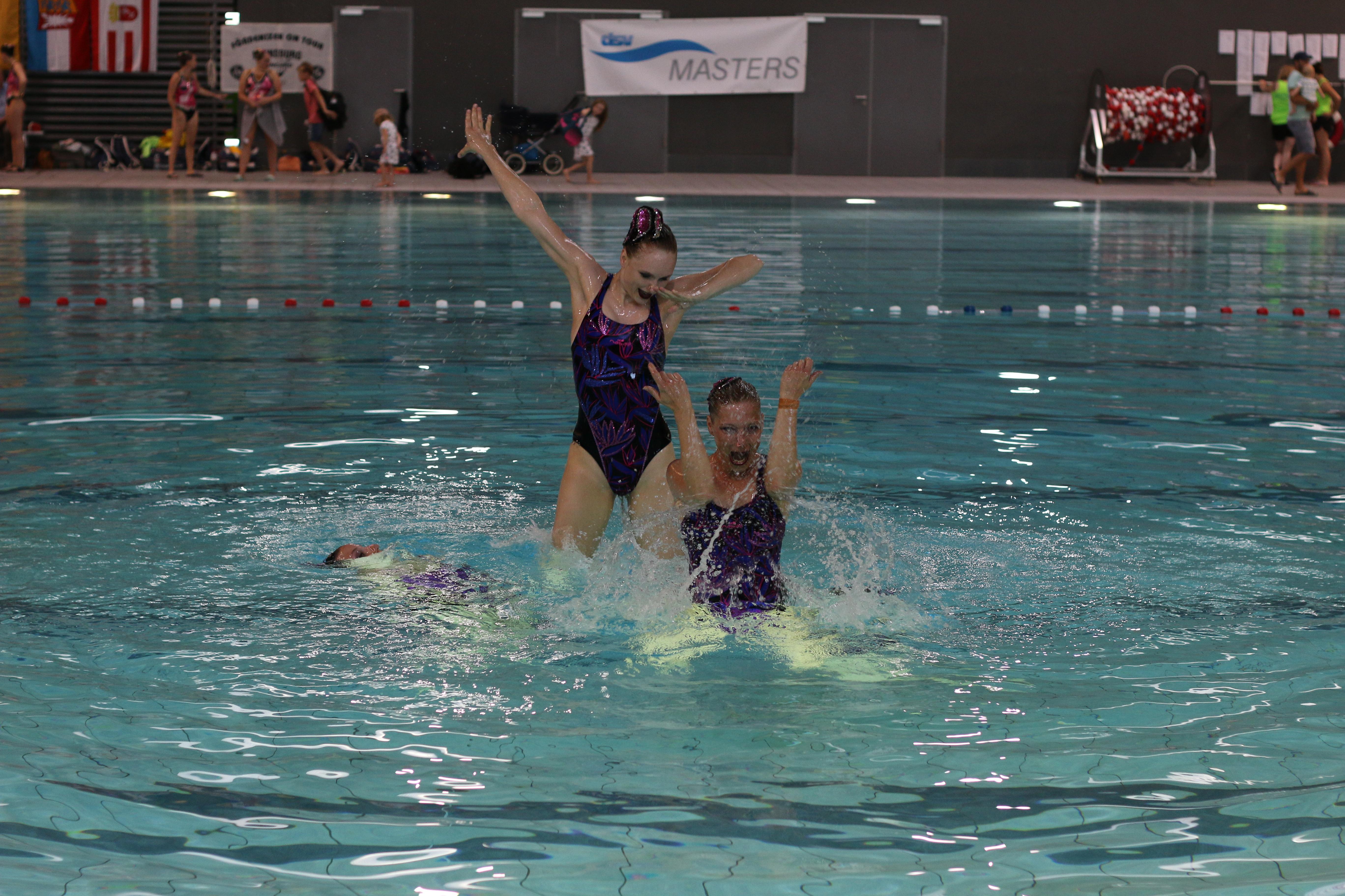 Synchronschwimmen, Deutsche Meisterschaften Masters, Hamburger Schwimmverband