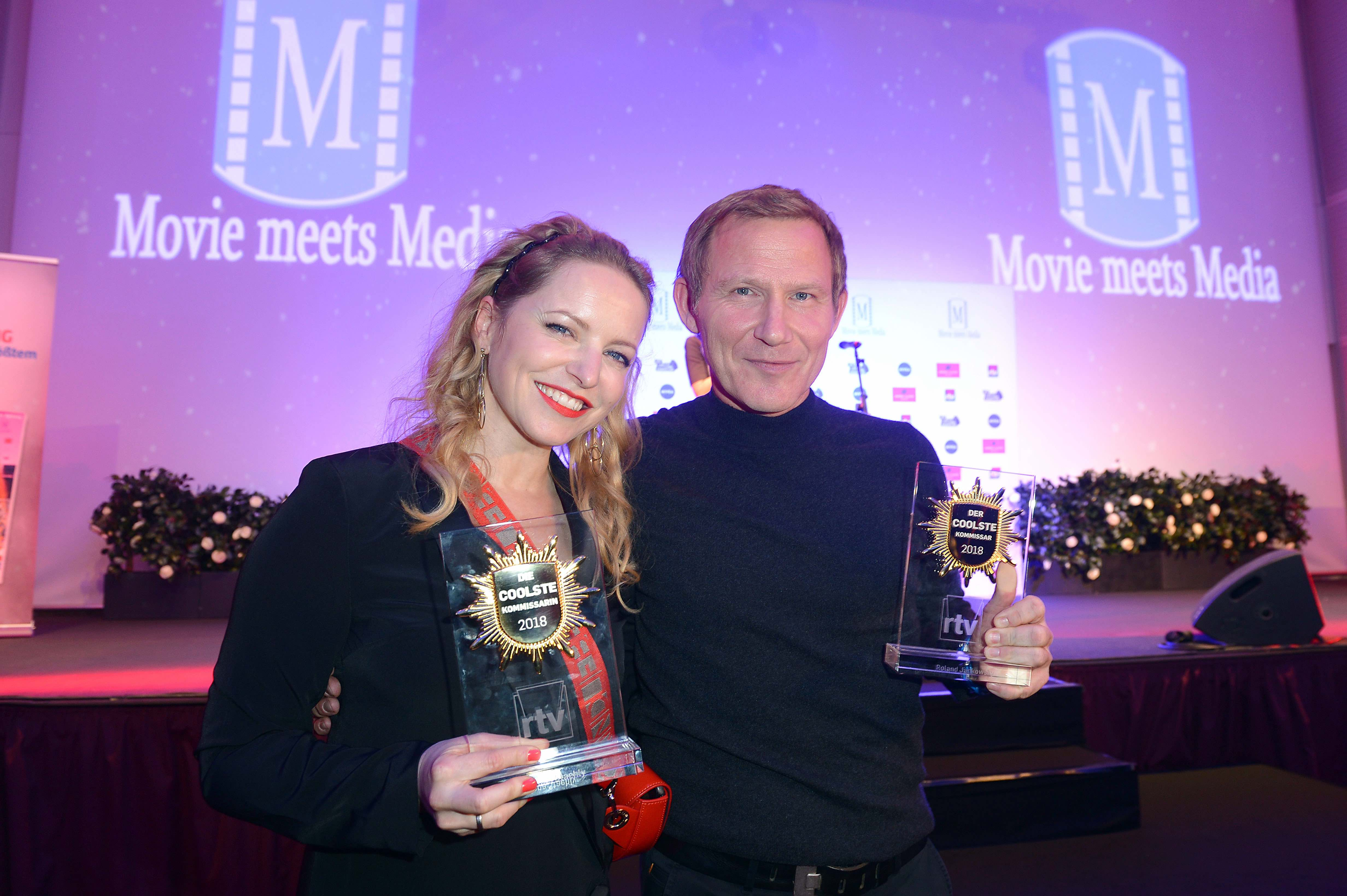Movie Meets Media: Coolste Kommissare Diana Staehly und Roland Jankowsky, Foto: BrauerPhotos / O. Walterscheid