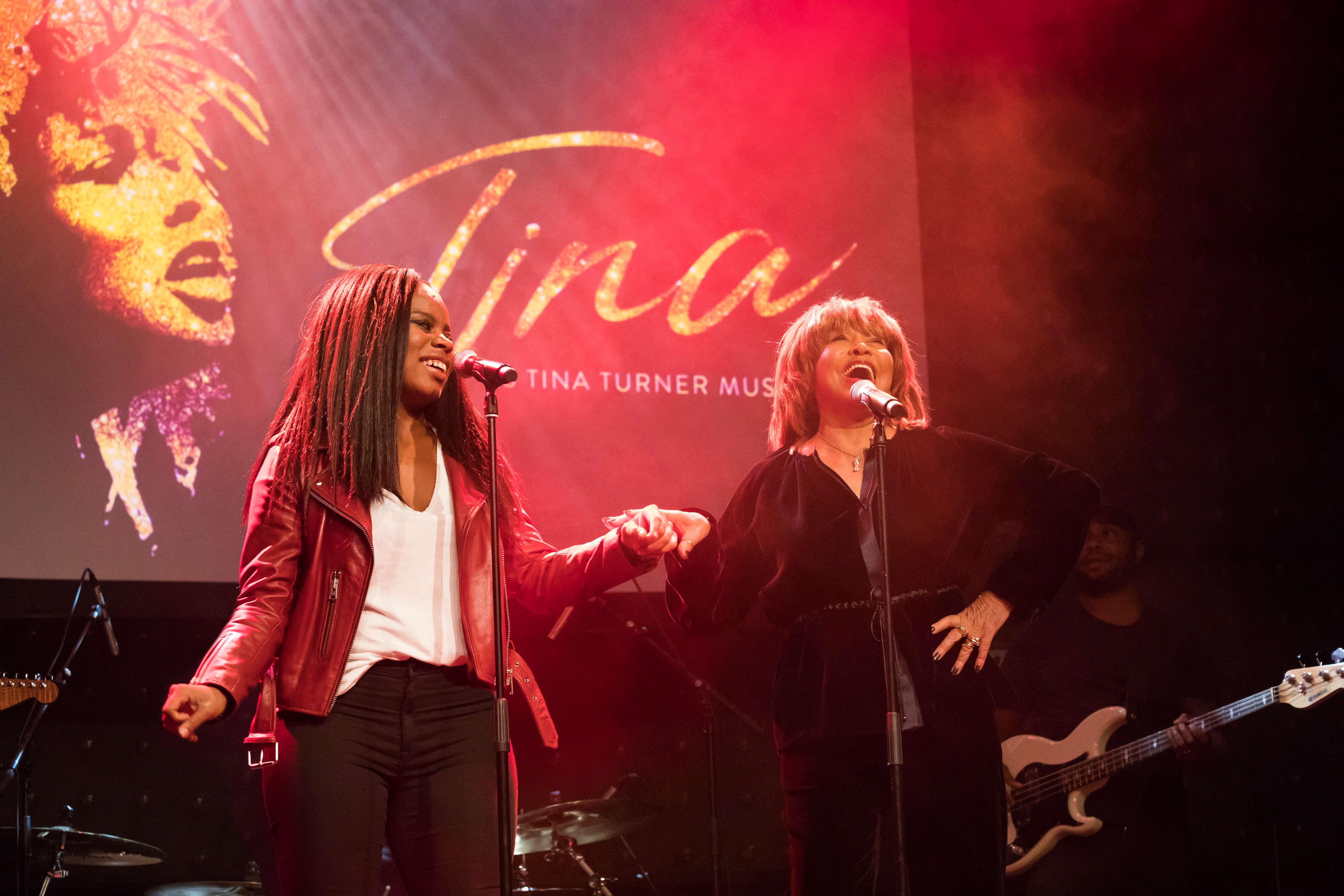 Tina Turner und Kristina Love beim Presse-Event am 23.10.2018.