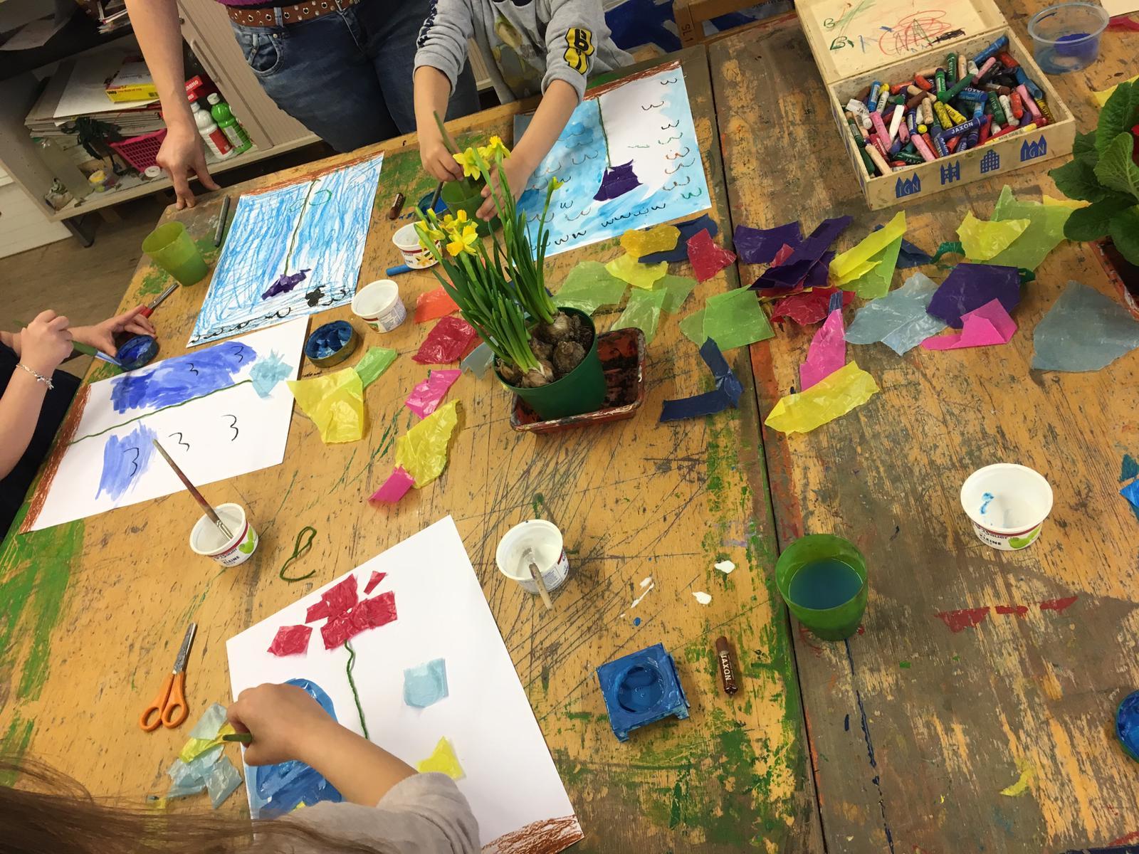Die LichtwarkSchule- Starke Kinder durch Kunst; Foto Samya Alvarez