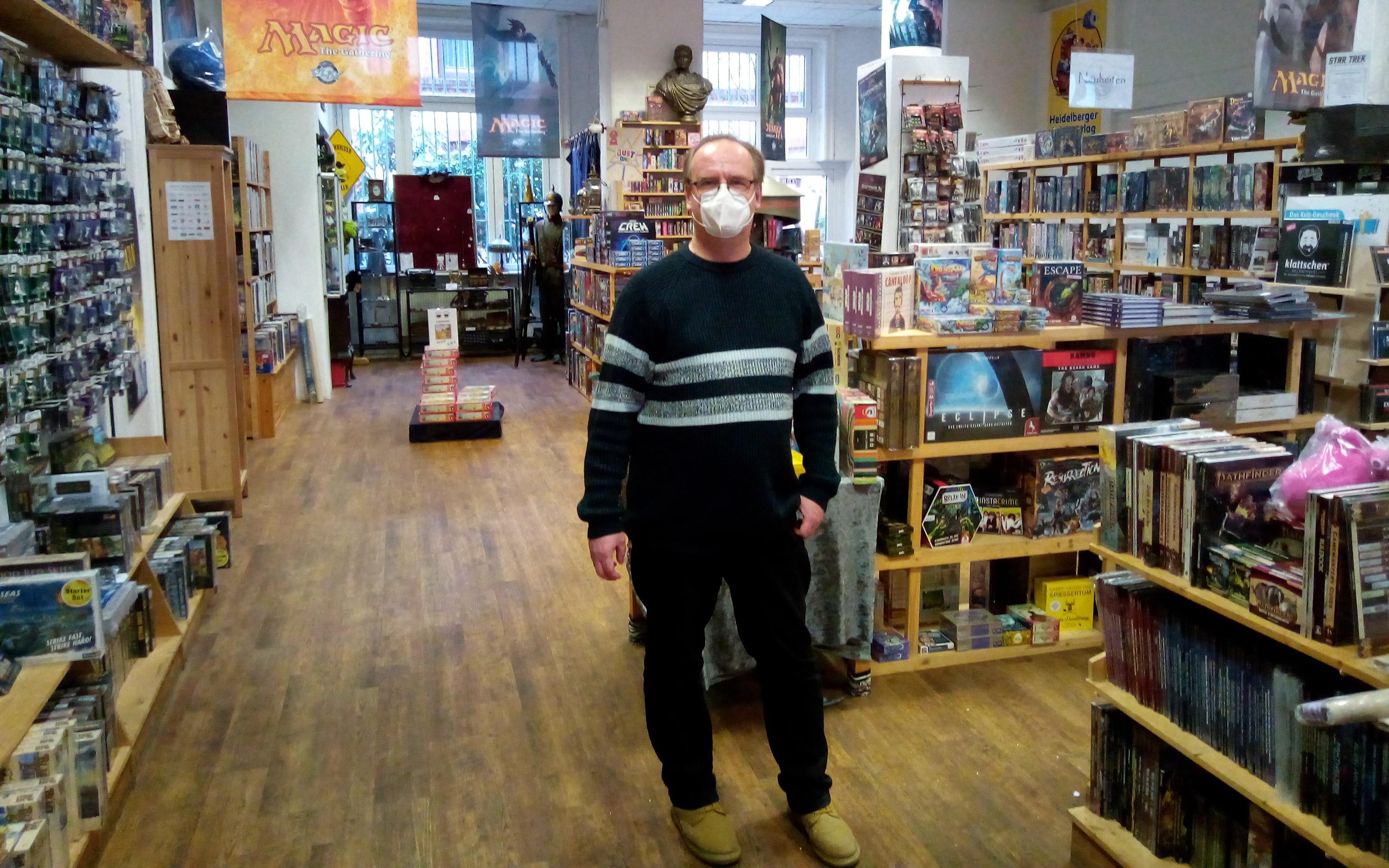 Ingolf Tews Atlantis Spieleladen Wartenau